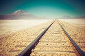 Endless train tracks