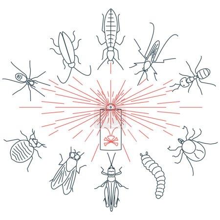 Pest control set