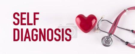 stethoscope and heart shape