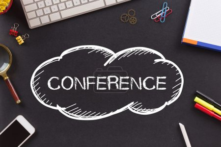 conference  word  written