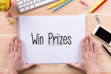 Win Prizes  text