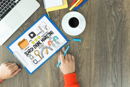 SEARCH ENGINE MARKETING text