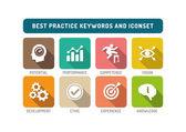 Best Practice Icons Set
