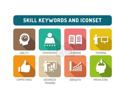 Skill Icons Set