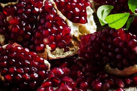 Azerbaijan peeled pomegranate