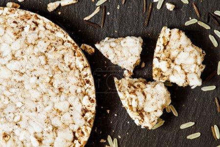 Whole-grain rice cakes