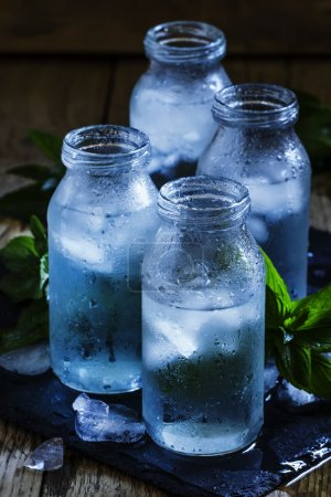 Cold isotonic solution for sports nutrition