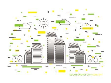 Solar energy city