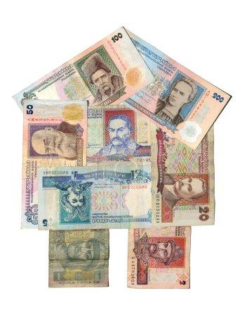 Historic banknote, Ukrainian hryvnia banknotes
