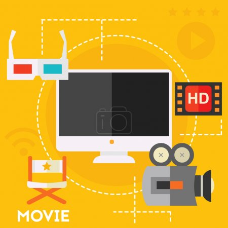 Concept of video production