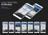Calendar Mobile App Widgets