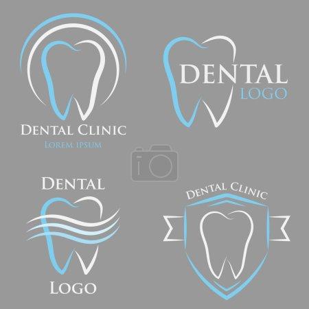 Vector dental logo