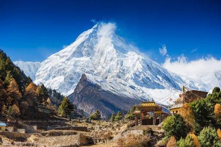 Himalayas mountain landscape