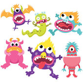 Silly Litter Monsters Set