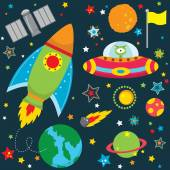 Outer Space Design Elements