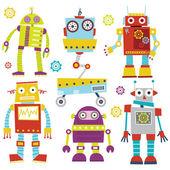 Set of Cute Robots