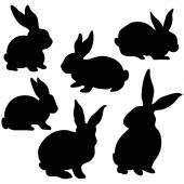Easter Bunny Silhouette