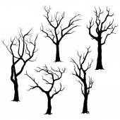 Tree Silhouettes Elements