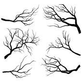 Branch Silhouettes Set