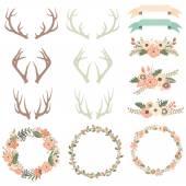 Wedding Flower Antlers