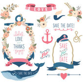 Nautical Sea Wedding Elements