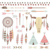 Tribal Indian Elements