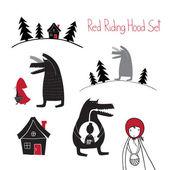 Red Riding Hood set