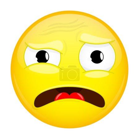 What emoji. Do not understand emotion. Puzzled emo...