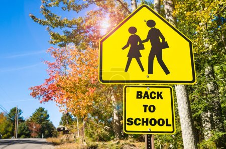 Back to School Conceptual Sign
