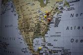 Velká mapa Usa