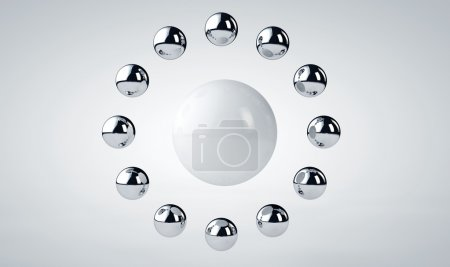 3d abstract background 3D render