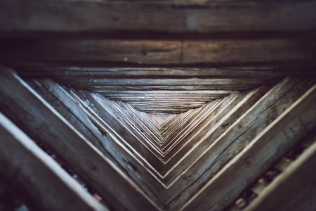 Symmetry of wooden triangle