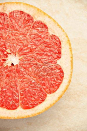 Fresh grapefruit. Vitamins for health.