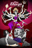 Happu Durga Puja festival India holiday background