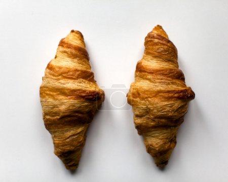 Croissants. Top view