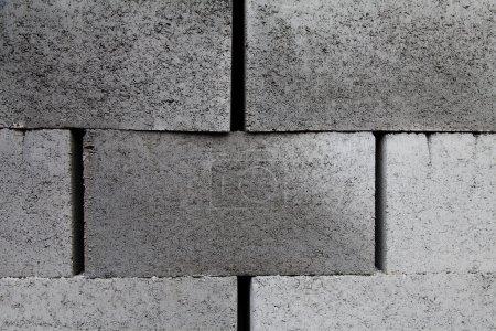 gray building cinder blocks made of