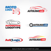 Car logotypes - car service and repair
