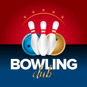 Bowling banner card