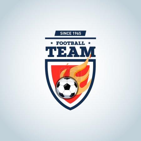 Soccer football badge logo