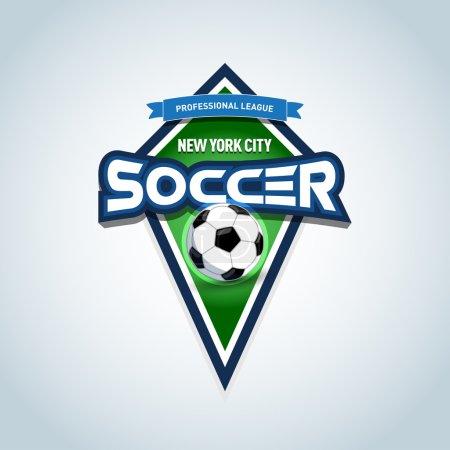 Soccer or football logo template