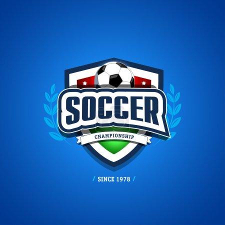 Soccer, football logo