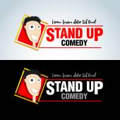Stand up comedy logos