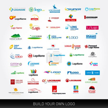 50 logo design templates
