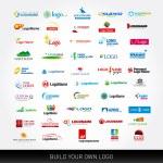 Logotypes set. 50 logo design templates. 50 logoty...