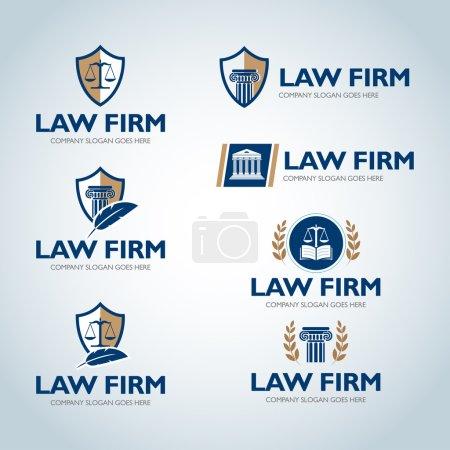 Lawyer logo design templates