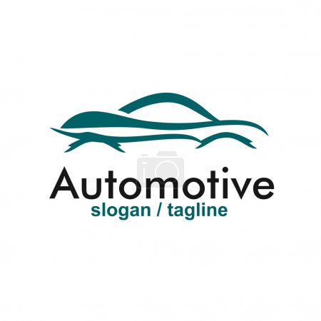 Automotive logo design vector