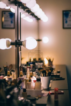Makeup room interiors