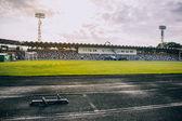 Empty local stadium