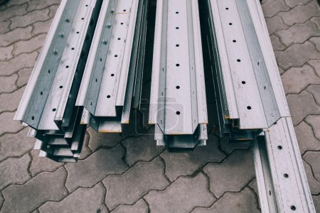 Steel metal profiles