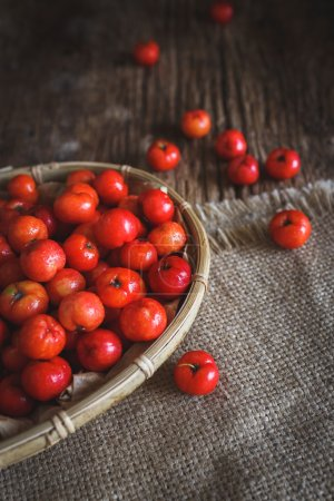 Red Barbados cherry
